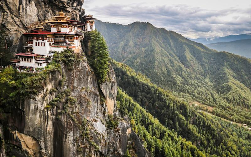 Paro Taktsang, the Tigers Nest Monastery in Bhutan  - Getty
