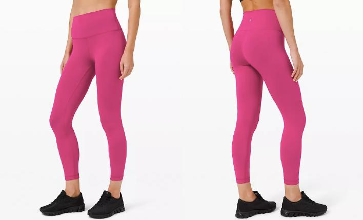 The Lululemon Wunder Train High-Rise Tights are just one of the recent additions to the brand's We Made Too Much page.