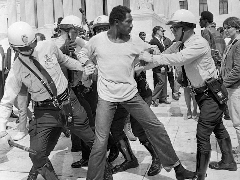 civil rights protests 1960s