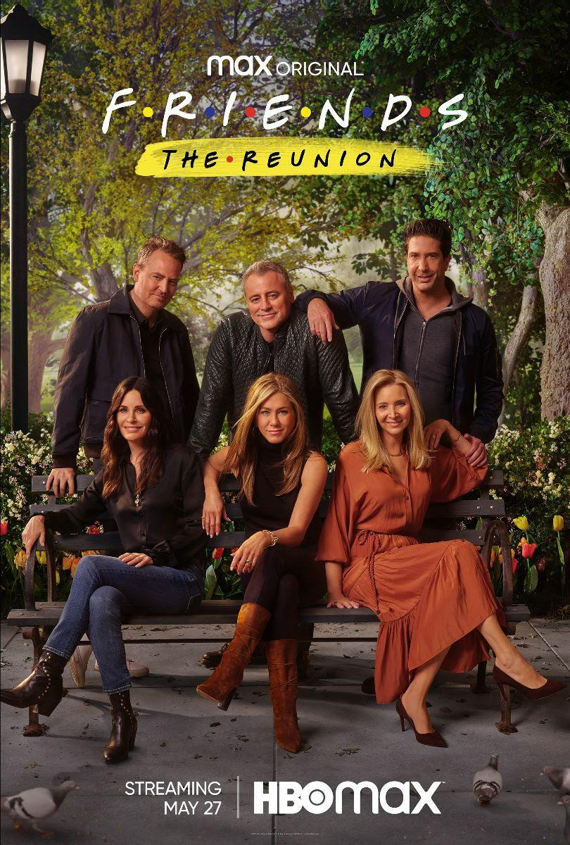 Official Poster for the Friends Reunion special on HBO Max
