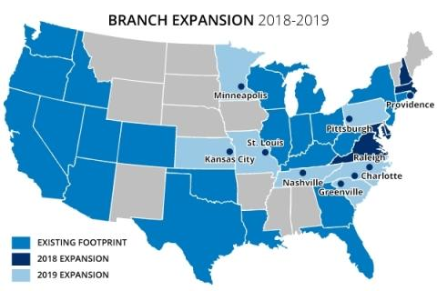 Chase Announces Major Branch Expansion in 2019