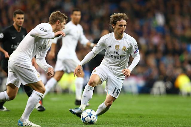 Luka Modric almost left Real Madrid in the summer, but he has won four Champions League titles