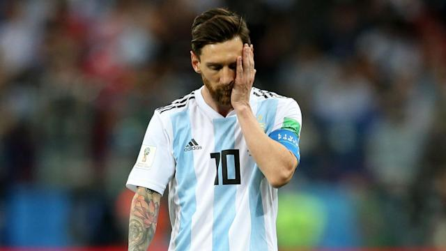 The star man barely got a sniff of the ball in the first half as his supply was limited by an effective performance from their Group D rivals