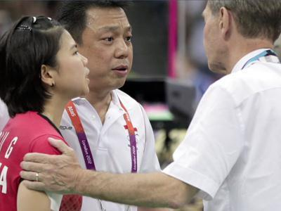 The London Olympics were shaken Wednesday by the disqualification of eight badminton players for throwing matches in the women's doubles, sparking harsh criticism from organizers, players and fans. (Aug. 1)