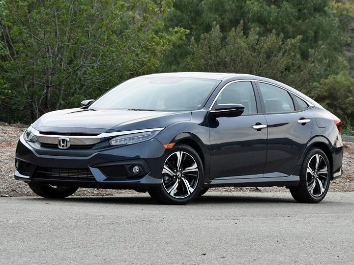 2016 Honda Civic Sedan Touring Front Quarter Left Photo