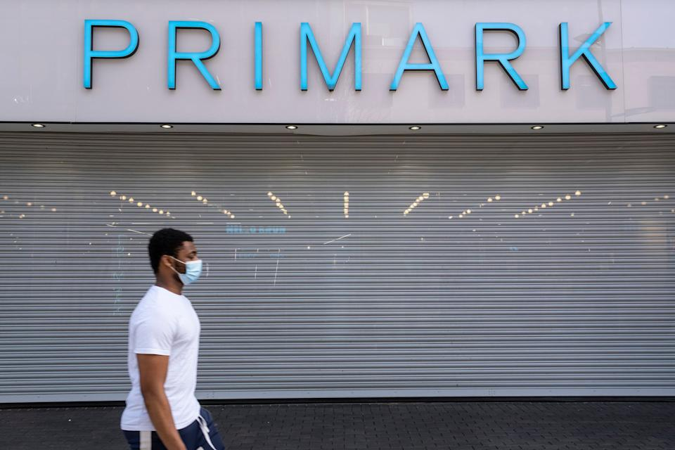 """Primark in Birmingham, which was among the """"non-essential"""" shops to reopen on April 12. Less fortunate were the 1,460 shops across the West Midlands that did not survive the pandemic. (Photo: Mike Kemp via Getty Images)"""