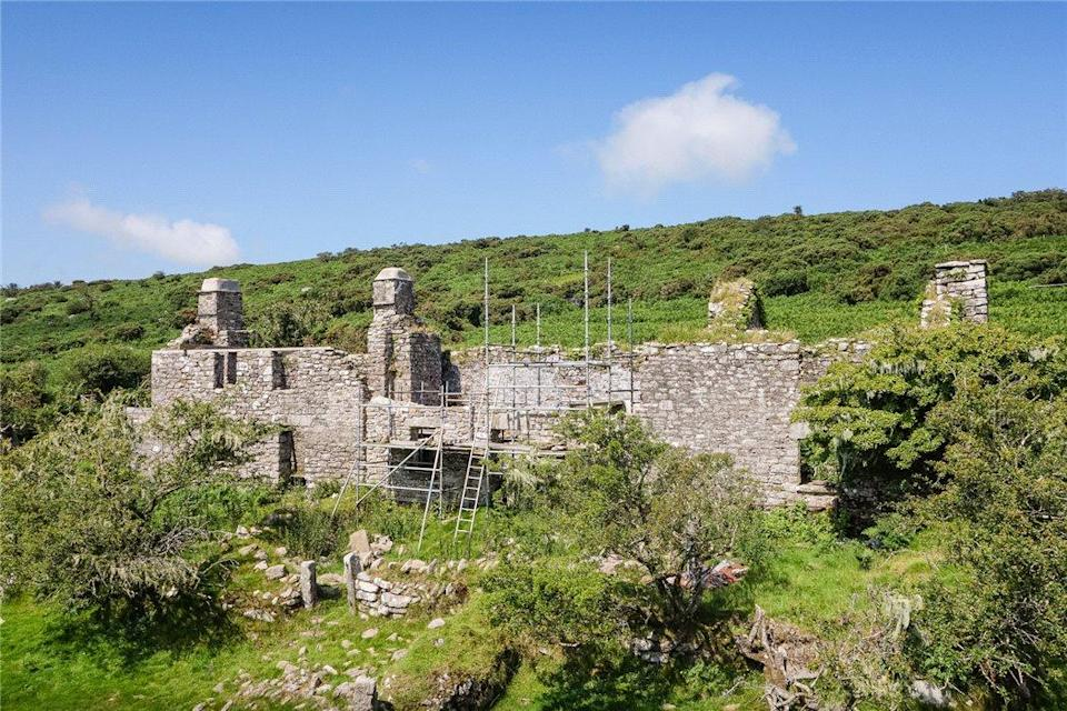 <p>The property comes with planning permission to turn the three cottages into one (very) detached dwelling. </p>
