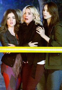 Lucy Hale, Ashley Benson and Troian Bellisario  | Photo Credits: Eric McCandless/ABC Family