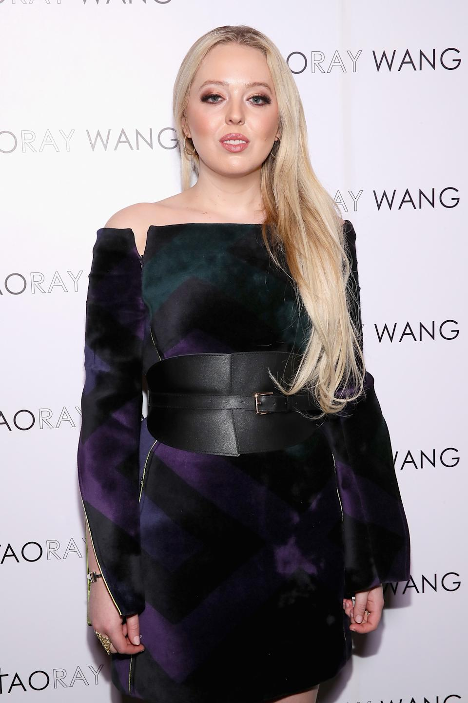 Tiffany Trump posted a cryptic poem on her Instagram page. (Photo: Astrid Stawiarz/Getty Images for Taoray Wang)