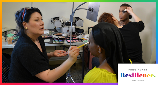 The Trans Beauty Clinic in New York City provides free classes, free product, and a safe space to the transgender community. (Photo: Anne Kristoff for Yahoo Lifestyle)