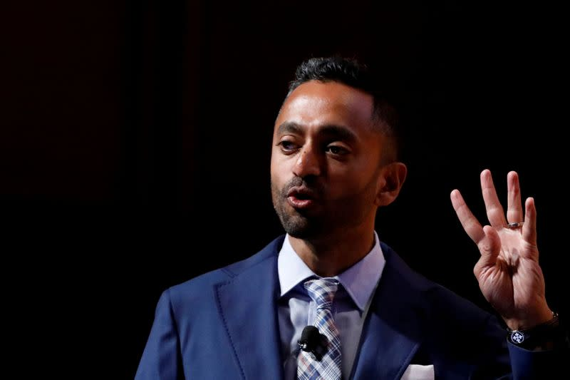 Chamath Palihapitiya, founder and CEO of Social Capital, at a conference in 2017