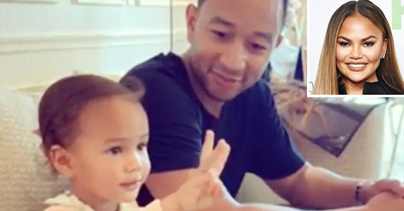 Chrissy Teigen claps back at Instagram user who criticizes daughter Luna's grooming