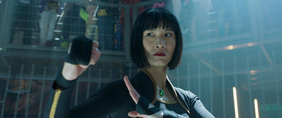 """Xialing (Meng'er Zhang) takes over his dad's private army – and sets up an intriguing sequel – at the end of """"Shang-Chi."""""""