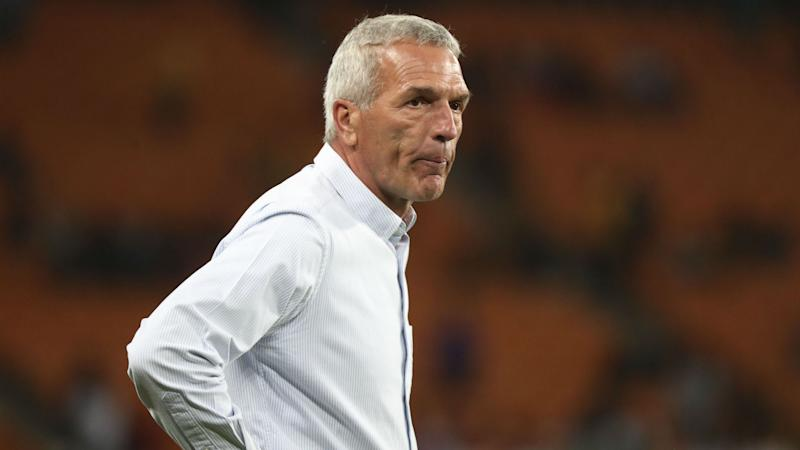 Ernst Middendorp, coach of Kaizer Chiefs, September 2019
