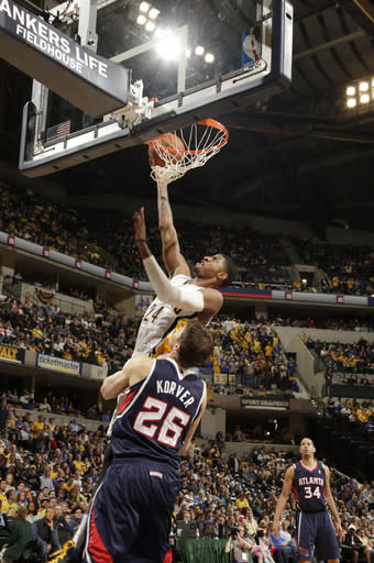 George's big game leads Pacers past Atlanta 107-90