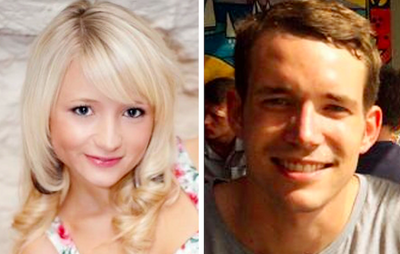 The battered bodies of Hannah Witheridge and David Miller were found on a beach on Koh Tao in September 2014 (PA)