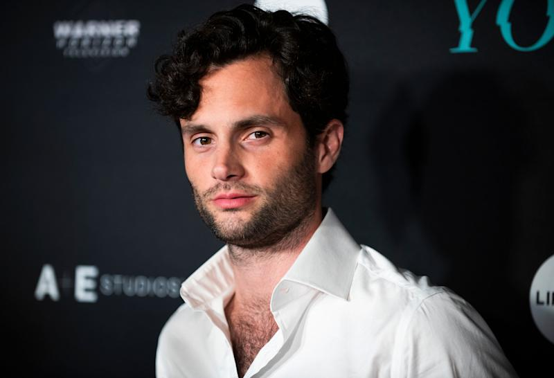 Age has nothing on Penn Badgley, as the 33-year-old looks like he is aging backwards in this photo.