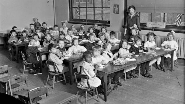 PHOTO: Children in a classroom, circa 1919-1929. (Library of Congress)