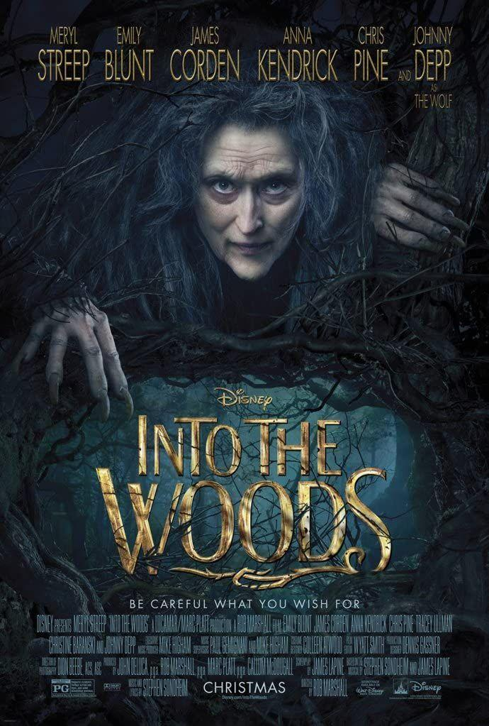 """<p>It's hard to find a movie musical more star-studded than <em>Into the Woods, </em>which features musical vets Meryl Streep, Emily Blunt, and Anna Kendrick among its leads. The film version is a bit more staid than Stephen Sondheim's quirky original stage version, but songs like <a href=""""https://www.youtube.com/watch?v=ZT1IgnzhUas"""" rel=""""nofollow noopener"""" target=""""_blank"""" data-ylk=""""slk:&quot;It Takes Two&quot;"""" class=""""link rapid-noclick-resp"""">""""It Takes Two""""</a> and <a href=""""https://www.youtube.com/watch?v=bprGqnJ3AxE"""" rel=""""nofollow noopener"""" target=""""_blank"""" data-ylk=""""slk:&quot;Giants in the Sky&quot;"""" class=""""link rapid-noclick-resp"""">""""Giants in the Sky""""</a> adapt beautifully to Rob Marshall's sweeping direction. </p><p><a class=""""link rapid-noclick-resp"""" href=""""https://www.amazon.com/Into-Woods-Theatrical-Meryl-Streep/dp/B00TPEMK3M?tag=syn-yahoo-20&ascsubtag=%5Bartid%7C10072.g.27734413%5Bsrc%7Cyahoo-us"""" rel=""""nofollow noopener"""" target=""""_blank"""" data-ylk=""""slk:WATCH NOW"""">WATCH NOW</a></p>"""
