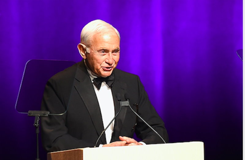 Les Wexner speaks onstage at the 2016 Fragrance Foundation Awards presented by Hearst Magazines - Show on June 7, 2016 in New York City. (Photo by Nicholas Hunt/Getty Images for Fragrance Foundation)