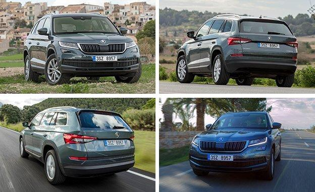 2017 skoda kodiaq the czech version of our next vw tiguan. Black Bedroom Furniture Sets. Home Design Ideas