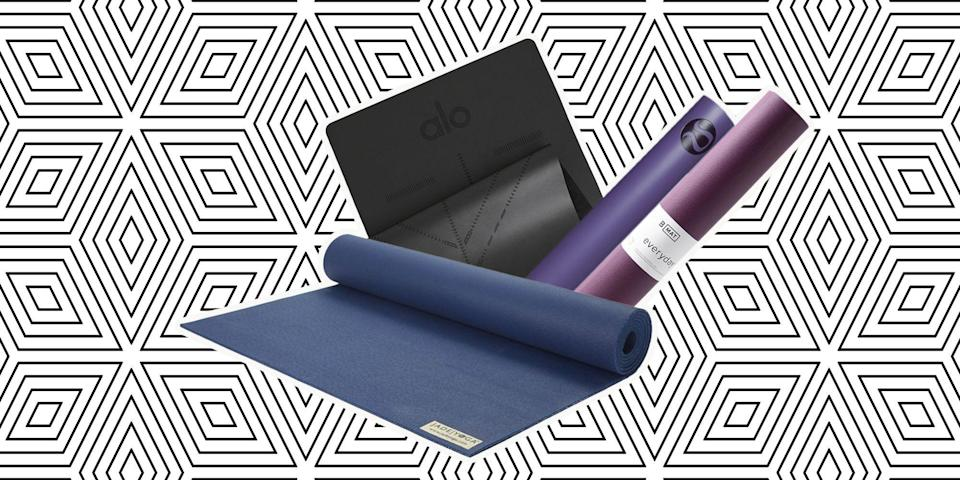 "<p>Finding the perfect yoga mat is kind of like dating—you don't <em>really</em> know what you're looking for, but once you find it you'll wonder how you made do with anything else. Whether you're a seasoned yogi or about to sign up for your first class, a clearer mind, happier <a href=""https://www.marieclaire.com/health-fitness/g4284/yoga-poses/"" rel=""nofollow noopener"" target=""_blank"" data-ylk=""slk:body"" class=""link rapid-noclick-resp"">body</a>, and better overall health starts with what you (literally) practice on. Now, more than ever, we could all take advantage of the balance and ease yoga provides us with both physically and mentally—even if we're forced to do it from our living rooms. Begin your practice with any of these mats, below, that yoga-loving women swear by. </p>"