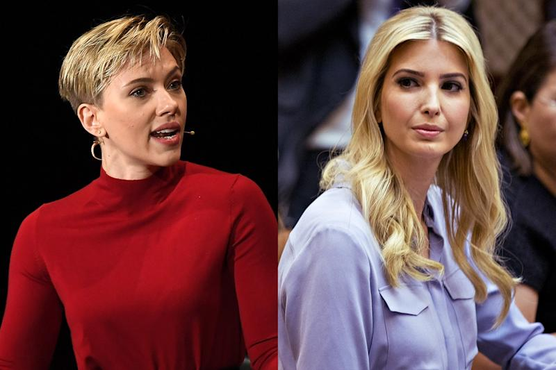 "Scarlett Johansson Finds Ivanka Trump's Words ""Particularly Disappointing"""