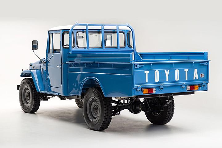 Beautifully Restored Toyota Land Cruiser Pickup in Need of a