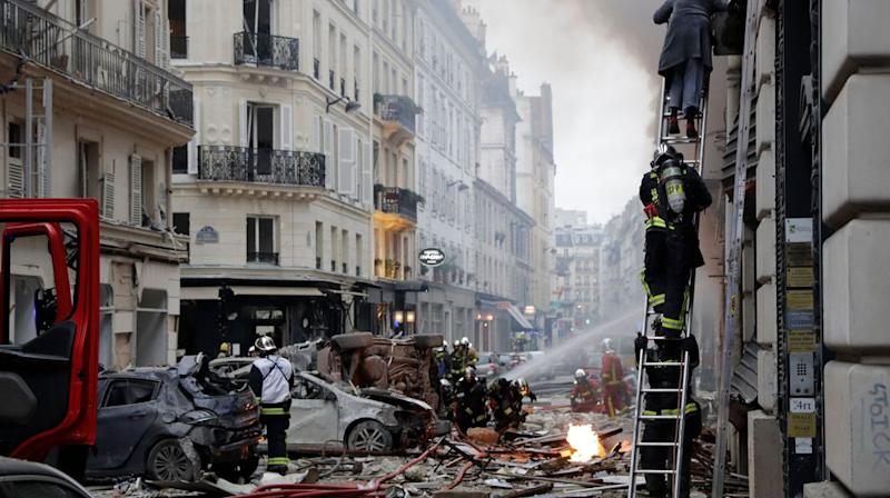 Explosion mortelle à Paris: le réseau de gaz en question