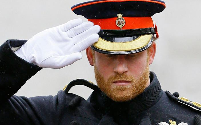 """Prince Harry said he felt """"trapped"""" by the institution - AFP"""