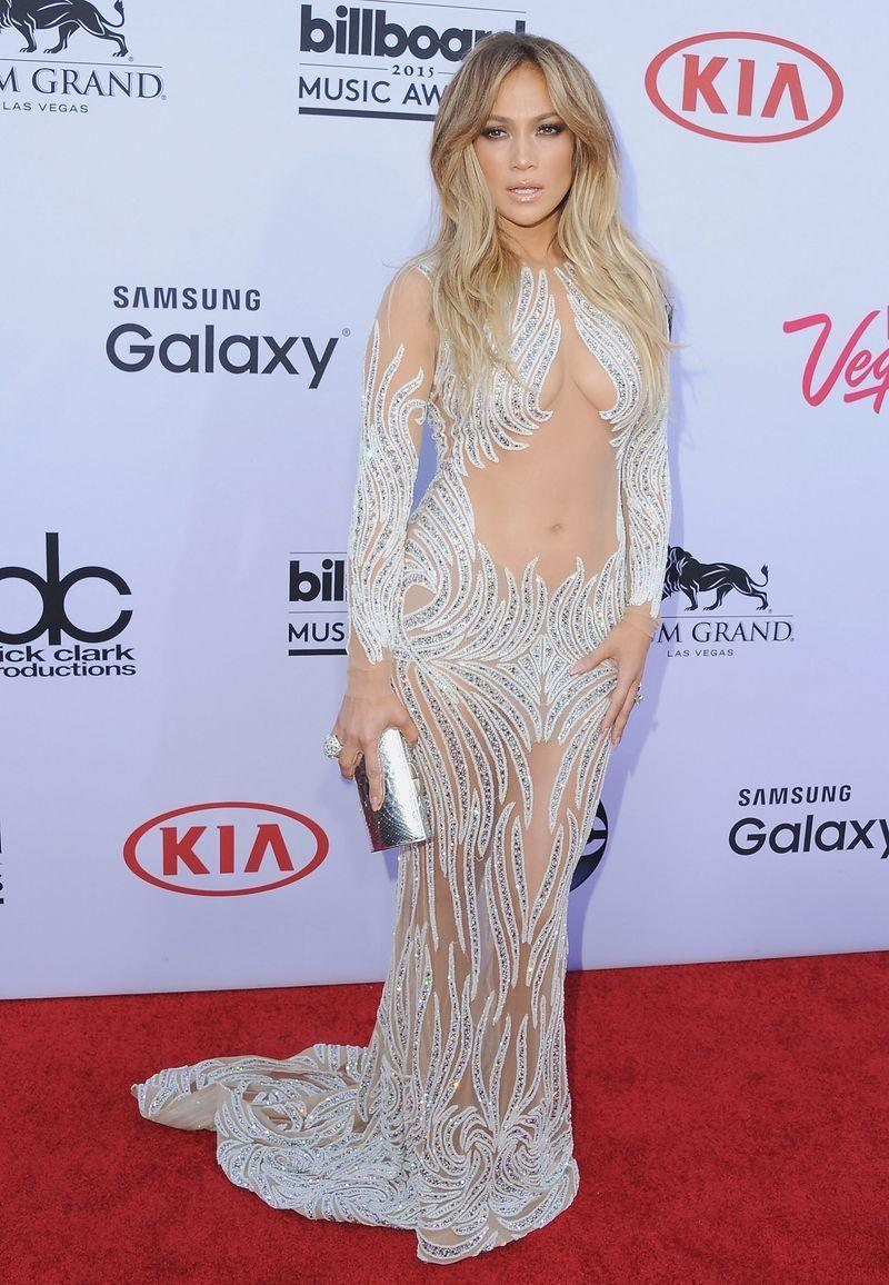 <p>Of course, no naked dress round-up is complete without a nod to Jennifer Lopez's Charbel Zoe Couture design, worn to the 2015 Billboard Music Awards.</p>
