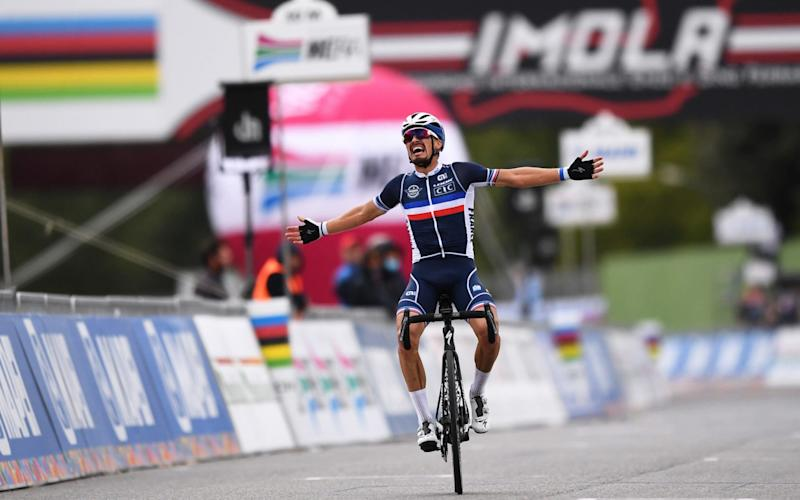 Julian Alaphilippe is one of the most popular riders in the world - Getty Images