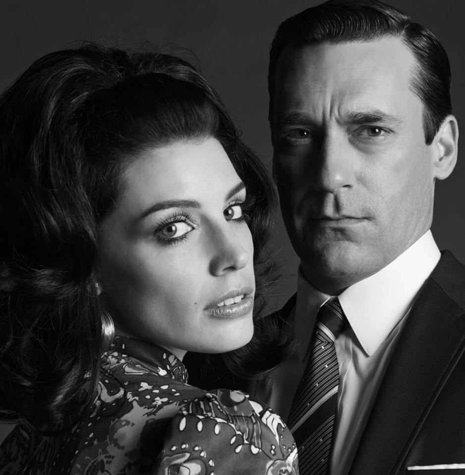 Megan Draper (Jessica Pare) and Don Draper (Jon Hamm) - Mad Men - Season 6