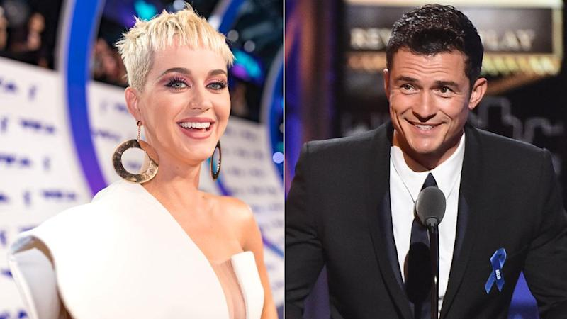 Katy Perry Spends Labor Day With Ex-Boyfriend Orlando Bloom
