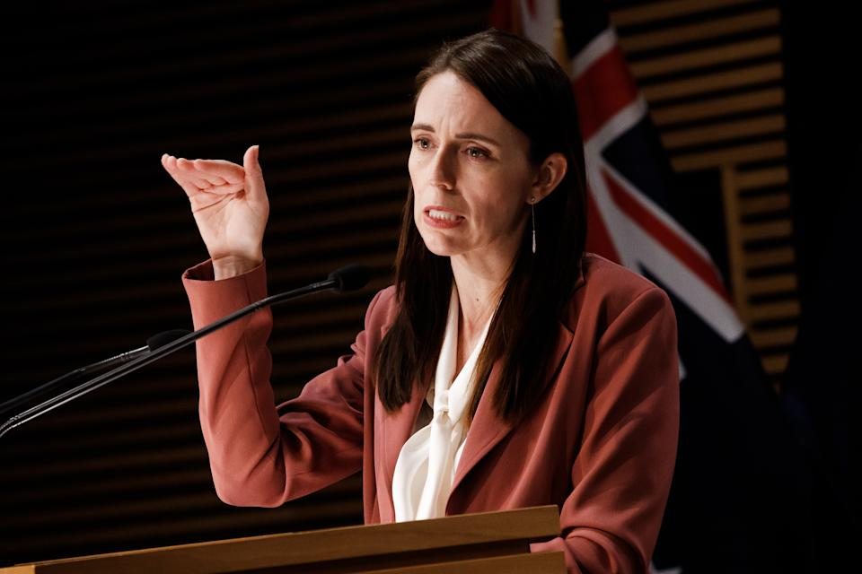 Prime Minister Jacinda Ardern continues to push towards Covid Zero. Source: Getty