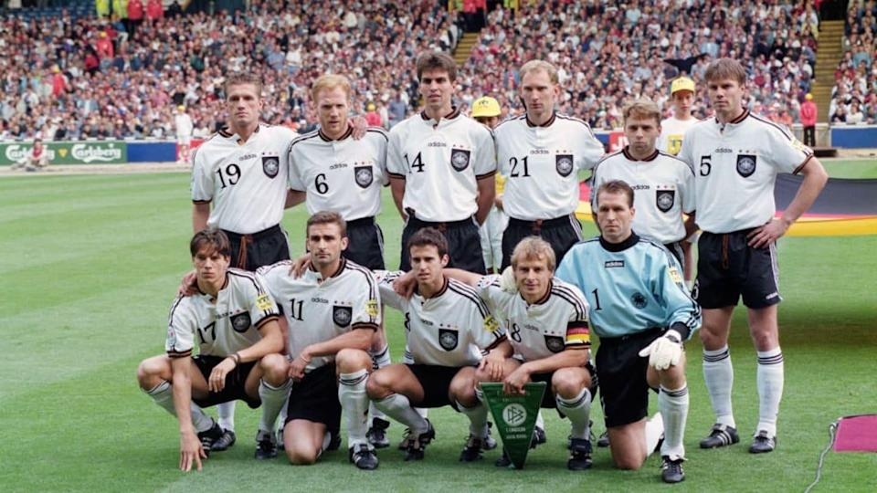 La Germania a Euro '96 | Stu Forster/Getty Images