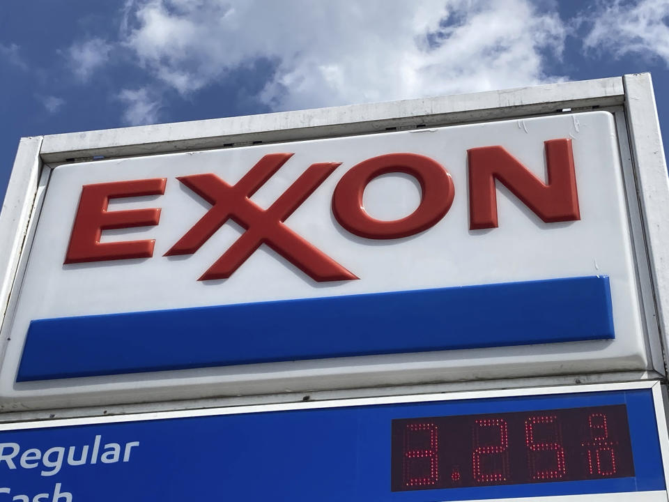 Photo by: STRF/STAR MAX/IPx 2021 6/20/21 Gas prices remain steady in New Jersey and around the nation over the past month, as gasoline supply grew and demand decreased. Here, an EXXON station is seen in South Orange, New Jersey.