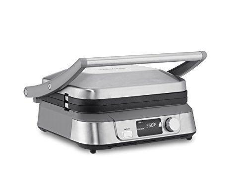 """<p><strong>Cuisinart</strong></p><p>amazon.com</p><p><strong>$99.95</strong></p><p><a href=""""https://www.amazon.com/dp/B0778XLPB7?tag=syn-yahoo-20&ascsubtag=%5Bartid%7C10055.g.28497189%5Bsrc%7Cyahoo-us"""" rel=""""nofollow noopener"""" target=""""_blank"""" data-ylk=""""slk:Shop Now"""" class=""""link rapid-noclick-resp"""">Shop Now</a></p><p>From pressing a panini to whipping up a big batch of pancakes, this easy-to-clean griddle is a mealtime game changer.</p>"""