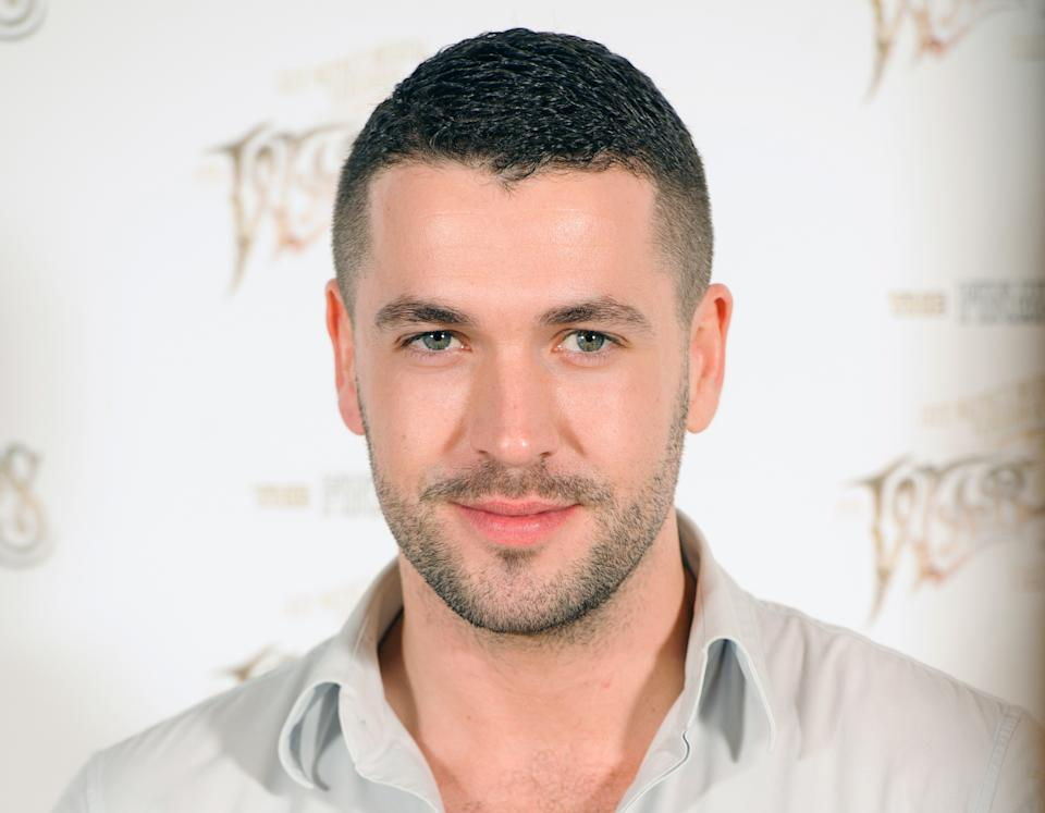 Shayne Ward at a photocall announcing the final arena tour of Jeff Wayne's musical version of 'War of the Worlds', at the Hospital Club, in Covent Garden, central London.   (Photo by Dominic Lipinski/PA Images via Getty Images)