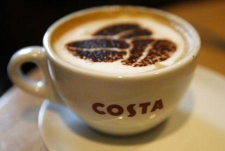 Slowing sales growth at Costa Coffee owner Whitbread knocks shares