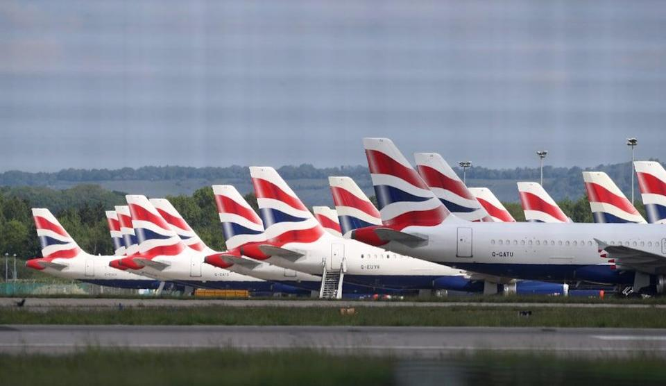 British Airways has suspended its short-haul flights at Gatwick since March 2020 (Gareth Fuller/PA) (PA Archive)