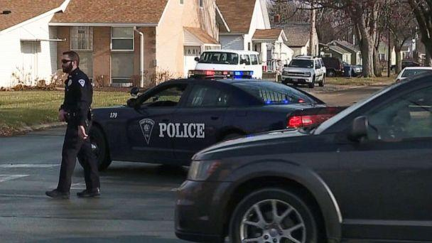 PHOTO: Port Clinton Police Department officers search for Harley Dilly, 14, who has been missing since Dec. 20, 2019, in Port Clinton, Ohio. (WEWS)