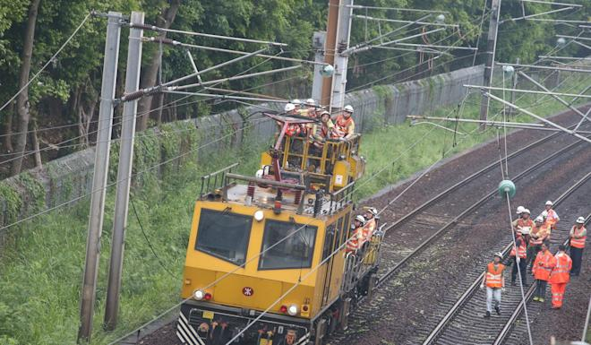 MTR services on East Rail line gradually return to normal