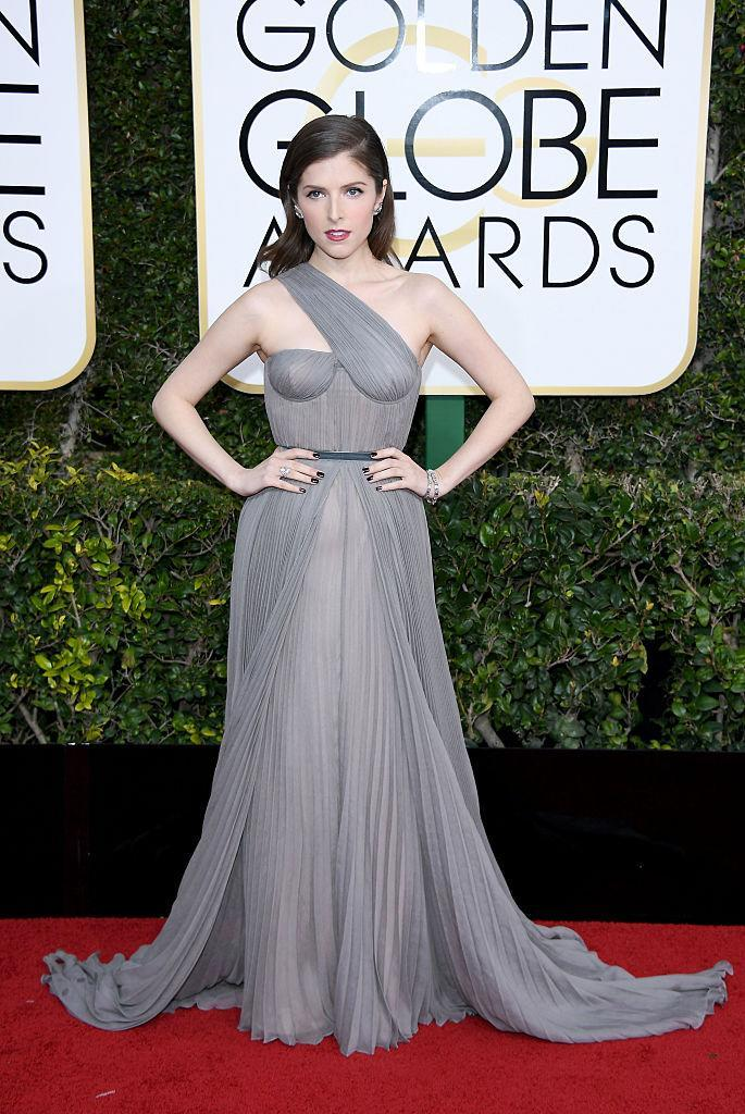 Anna Kendrick in Vionnet. (Photo: Getty Images)