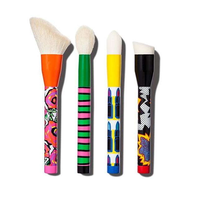 "<p>These pop-art-themed brushes are an amazing bargain buy, and deserve a permanent spot on your vanity. <em>$23, <a href=""https://www.target.com/p/sonia-kashuk-174-cosmetic-brush-set/-/A-51406918?lnk=rec