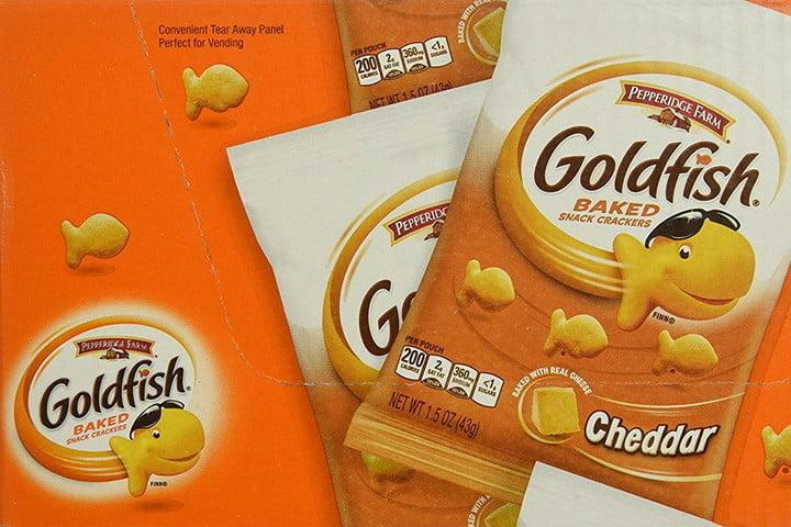 refrigerios goldfish galleta