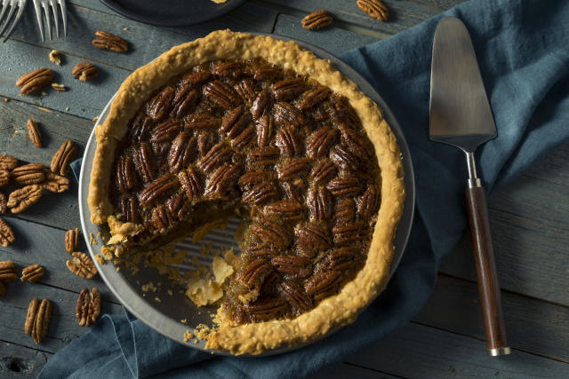 Pecan pie is a Thanksgiving standard in the South. (bhofack2 via Getty Images)