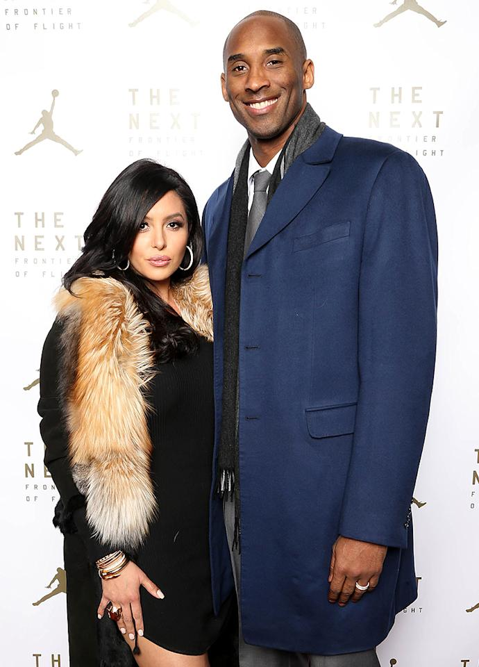 "<p>Kobe Bryant may have been the king on the basketball court, but at home his house if full of princesses. The former Los Angeles Lakers star and his wife, Vanessa Bryant, <a rel=""nofollow"" href=""<a href="