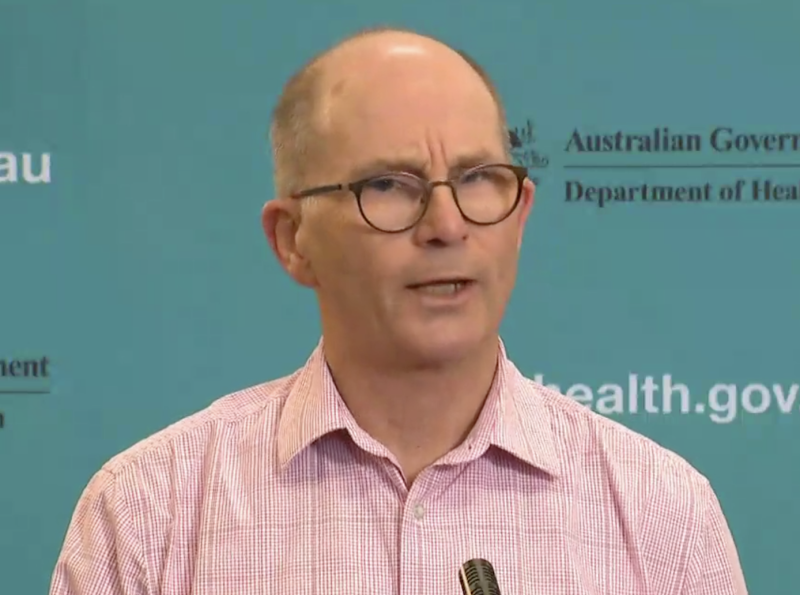 The Deputy Chief Medical Officer said Australians should not be wearing face masks. Source: Facebook