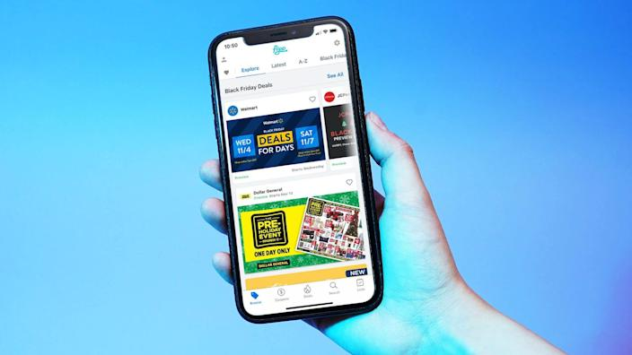 With the popular Flipp app, view the latest circulars (ads) and online coupons from your favorite local stores, and create a Watch List for something you've had your eye on.